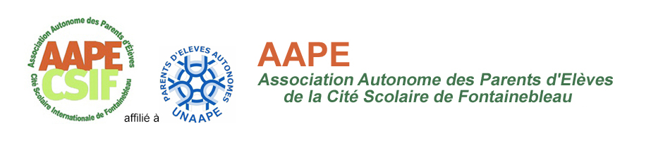 Association Autonome des Parents d'Eleves de la Cité Scolaire de Fontainebleau